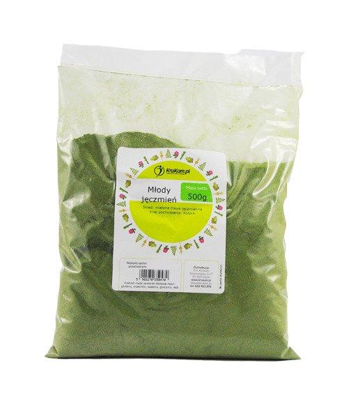 tabletki jeczmien zielony
