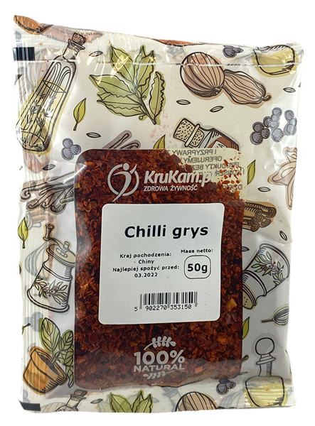 CHILLI grys 50g Super OSSSTRE!!!!